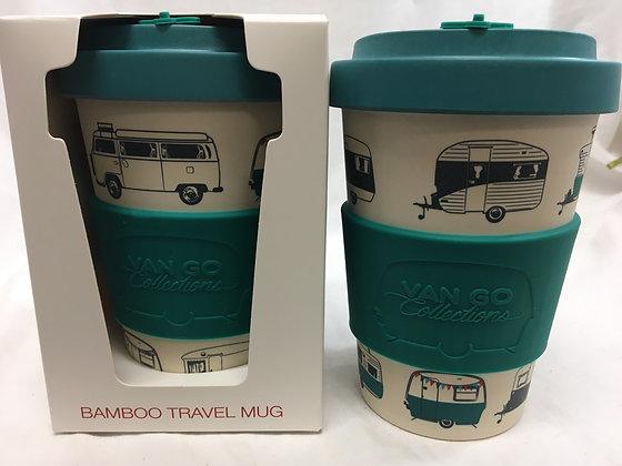 Van go reuseable travel mug