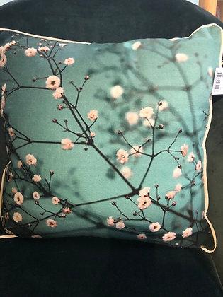 Cotton drill print cushion