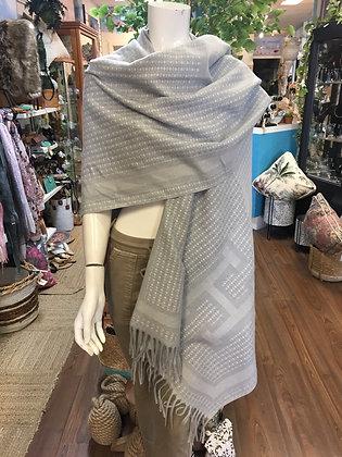 Silver scarf/shawl