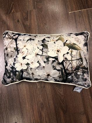 Blossom print cushion