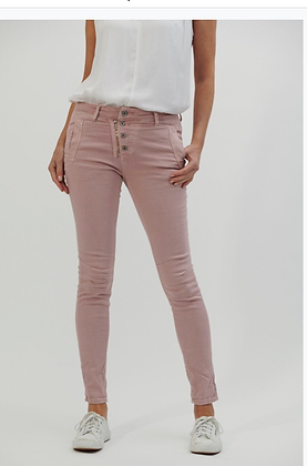 Italian star jeans - dusty pink