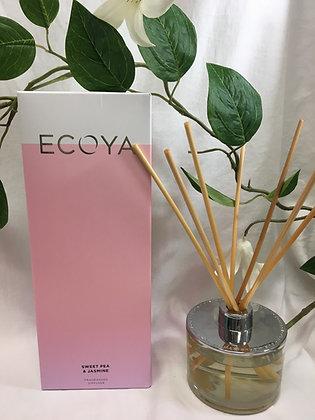 Ecoya - Sweet Pea and Jasmine Fragranced Diffuser