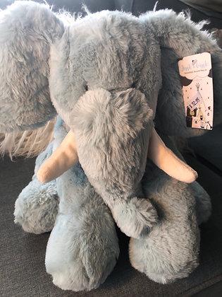 Large blue elephant