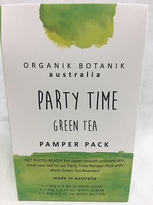 Organik botanik party time pamper pack