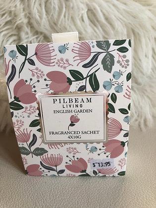 English garden fragranced sachet