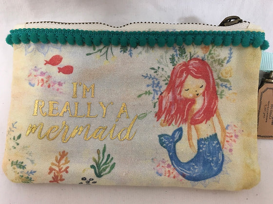 Mermaid coin purse