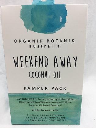 Organik botanik pamper pack