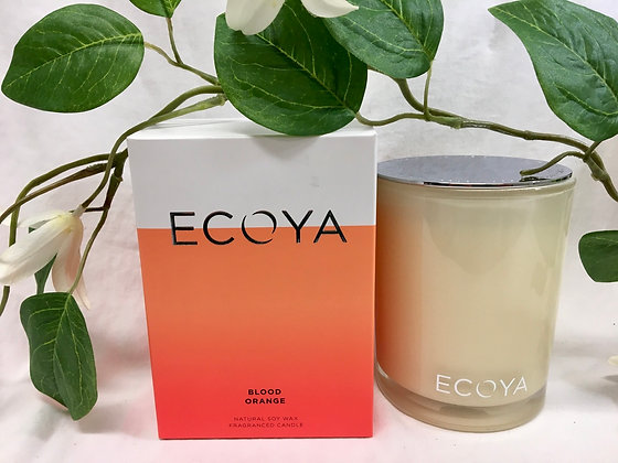 Ecoya Blood Orange Candle - Madison Jar