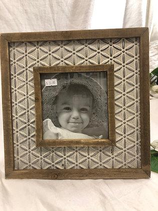 Square metal frame