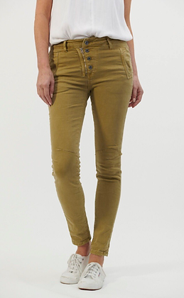 Italian star jeans - olive