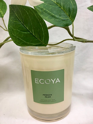 Ecoya French Pear Candle - Metro Jar