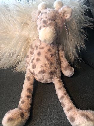 Soft pink giraffe
