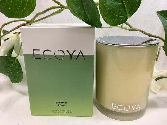 Ecoya French Pear Candle - Madison Jar