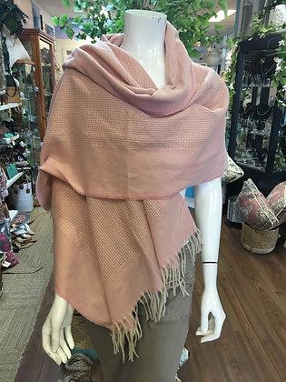 Pink soft scarf/shawl