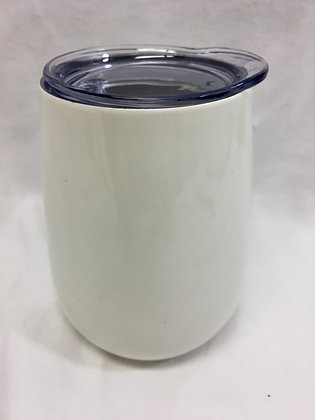 Doubled walled white wine tumbler