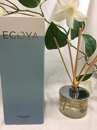 Ecoya - Spiced Ginger and Musk Fragranced Diffuser