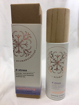 D stress aromabotanical room spray