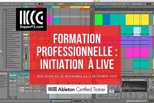 Formation Pro : Initiation à Live