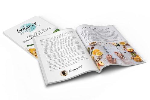 Balance 4 Life Food E-Book