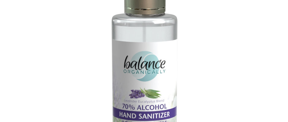 Hand and Surface Sanitizer w/ 100% pure essential oils added