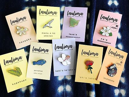 Laulima pins have been restocked! #nativ