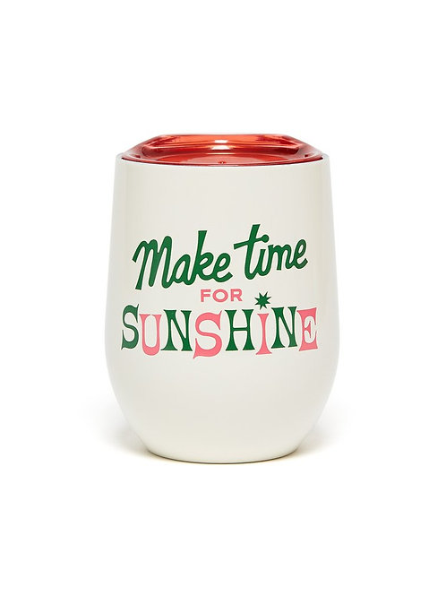 MakeTime For Sunshine Stainless Steel Cup with Lid