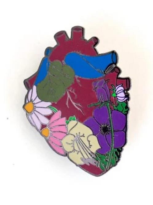 Garden Heart Pin