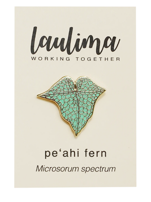 Pe'ahi Fern Pin