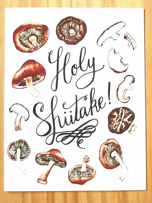 Holy Shiitake Card