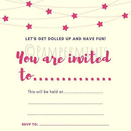 Divas Invitation