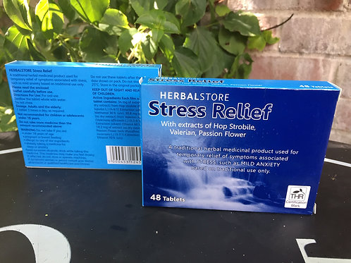 Twin Pack 2 STRESS RELIEF ANXIETY SLEEP MOOD DEPRESSION RELIEF 48 TABLETS