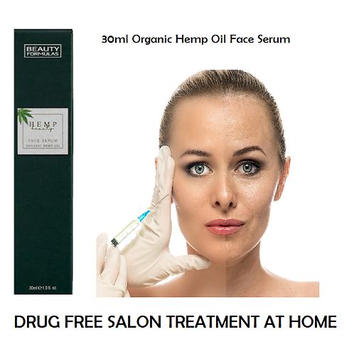 tenacious hemp 30ml Organic Hemp Oil Face Serum - rejuvenate and look younger