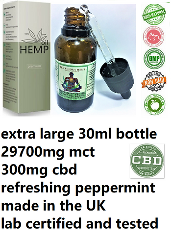 tenacious hemp oil uk
