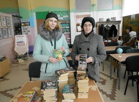 Акция книгодарения в детской библиотеке