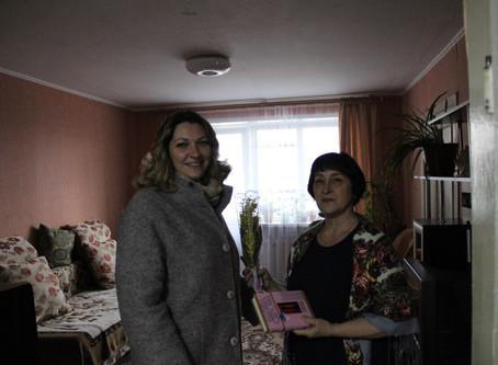 Акция «В женский день с читателями»