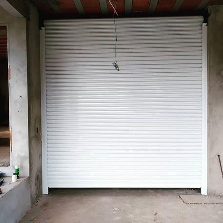 Porta de Enrolar Automática com Pintura