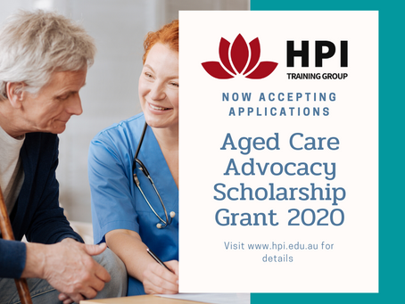 Aged Care Advocacy Scholarship