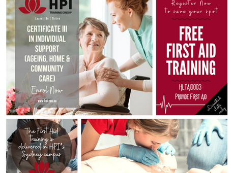 FREE First Aid Training