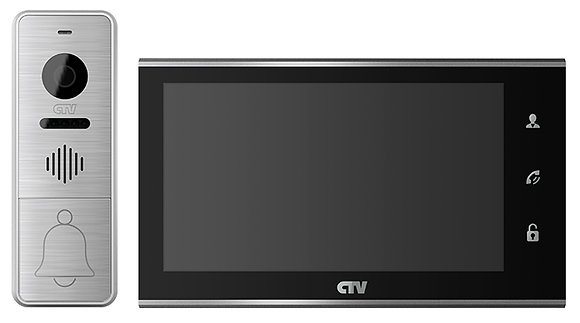 CTV-DP4705AHD Комплект видеодомофона