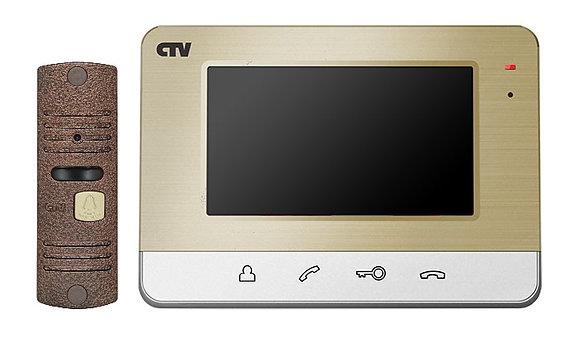 CTV-DP401 Комплект видеодомофона