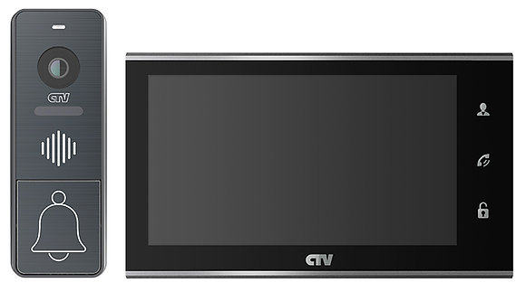 CTV-DP4707IP Комплект видеодомофона