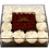 Thumbnail: White with mini burgundy roses