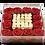 Thumbnail: Burgundy with mini white roses