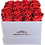Thumbnail: Monet collection white box with sixteen red roses