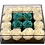 Thumbnail: White with mint green roses