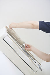 Fixação de um condicionador de ar