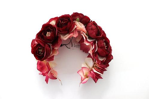 Diadema de Flores Amanda
