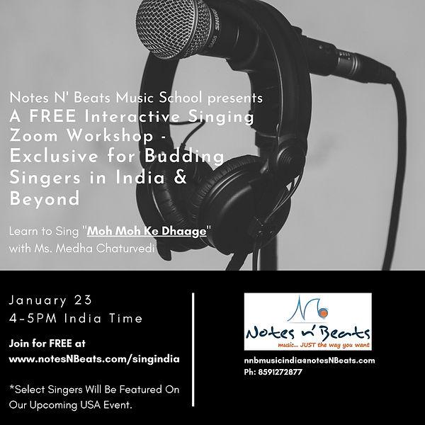 Sing India | Notesnbeats | United States
