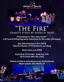 music charity event