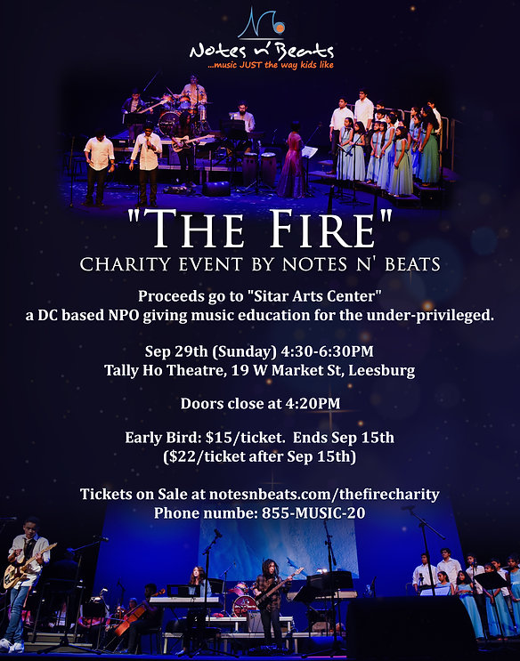 charity music event notesnbeats